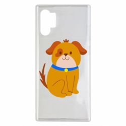 Чехол для Samsung Note 10 Plus Little funny dog