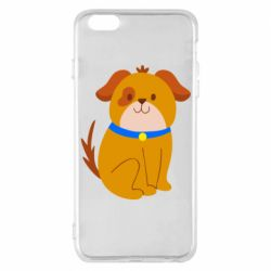 Чехол для iPhone 6 Plus/6S Plus Little funny dog