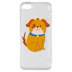 Чехол для iPhone5/5S/SE Little funny dog