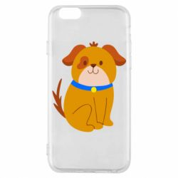 Чехол для iPhone 6/6S Little funny dog