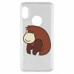 Чехол для Xiaomi Redmi Note 5 Little monkey