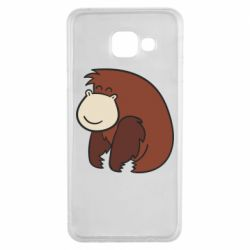 Чехол для Samsung A3 2016 Little monkey