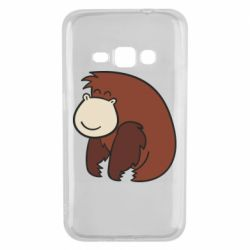 Чехол для Samsung J1 2016 Little monkey