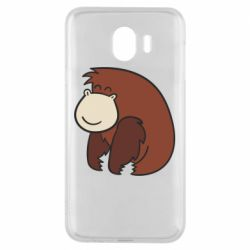 Чехол для Samsung J4 Little monkey