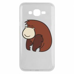 Чехол для Samsung J7 2015 Little monkey