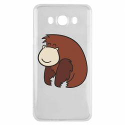 Чехол для Samsung J7 2016 Little monkey