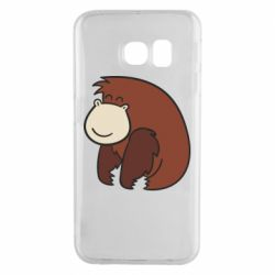 Чехол для Samsung S6 EDGE Little monkey