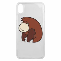 Чехол для iPhone Xs Max Little monkey