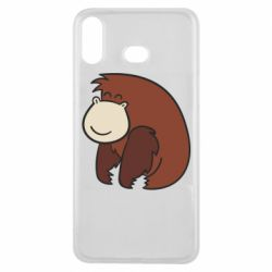 Чехол для Samsung A6s Little monkey