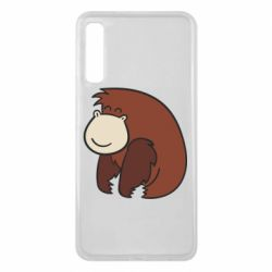 Чехол для Samsung A7 2018 Little monkey