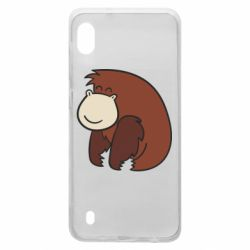 Чехол для Samsung A10 Little monkey