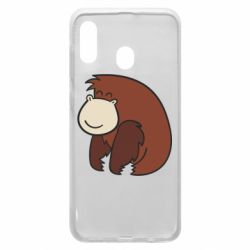 Чехол для Samsung A20 Little monkey