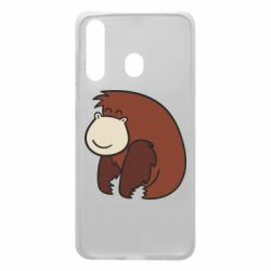 Чехол для Samsung A60 Little monkey