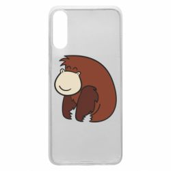 Чехол для Samsung A70 Little monkey
