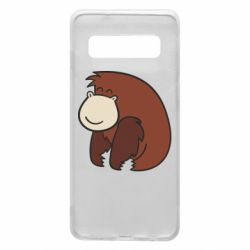 Чехол для Samsung S10 Little monkey
