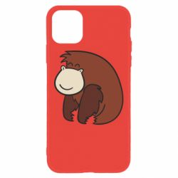Чехол для iPhone 11 Little monkey