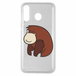 Чехол для Samsung M30 Little monkey