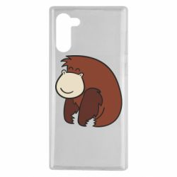Чехол для Samsung Note 10 Little monkey