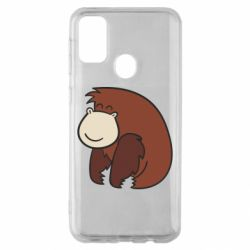 Чехол для Samsung M30s Little monkey