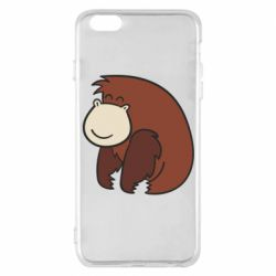 Чехол для iPhone 6 Plus/6S Plus Little monkey