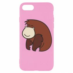 Чехол для iPhone 7 Little monkey