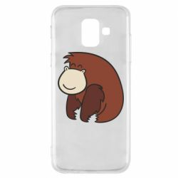Чехол для Samsung A6 2018 Little monkey