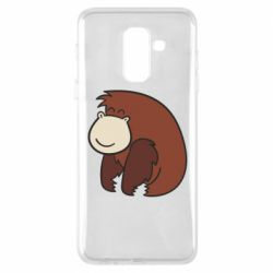 Чехол для Samsung A6+ 2018 Little monkey