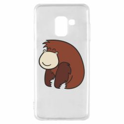 Чехол для Samsung A8 2018 Little monkey