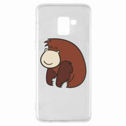 Чехол для Samsung A8+ 2018 Little monkey
