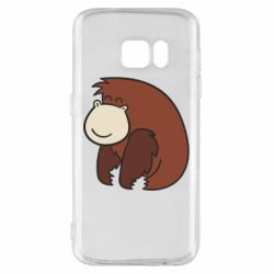 Чехол для Samsung S7 Little monkey