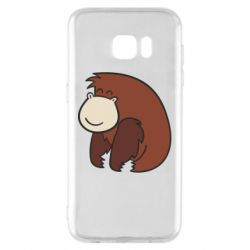 Чехол для Samsung S7 EDGE Little monkey