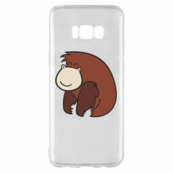 Чехол для Samsung S8+ Little monkey