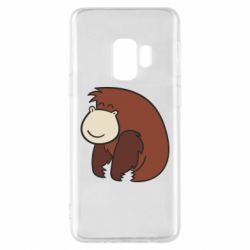 Чехол для Samsung S9 Little monkey