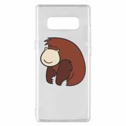 Чехол для Samsung Note 8 Little monkey