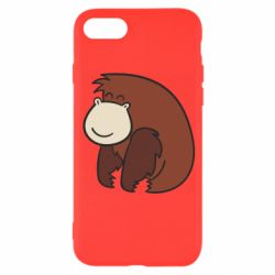 Чехол для iPhone 8 Little monkey