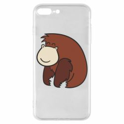 Чехол для iPhone 8 Plus Little monkey