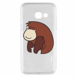 Чехол для Samsung A3 2017 Little monkey