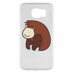 Чехол для Samsung S6 Little monkey