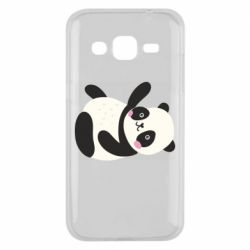 Чехол для Samsung J2 2015 Little panda