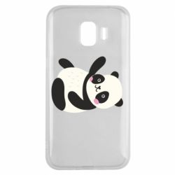Чехол для Samsung J2 2018 Little panda