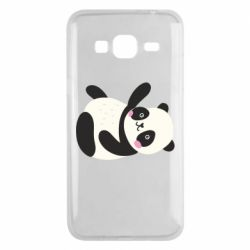 Чехол для Samsung J3 2016 Little panda