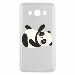 Чехол для Samsung J5 2016 Little panda