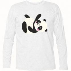 Футболка с длинным рукавом Little panda