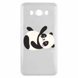 Чехол для Samsung J7 2016 Little panda