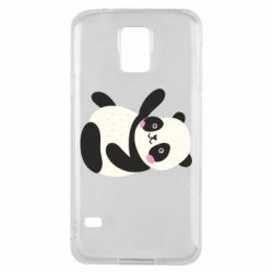 Чехол для Samsung S5 Little panda