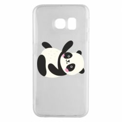 Чехол для Samsung S6 EDGE Little panda