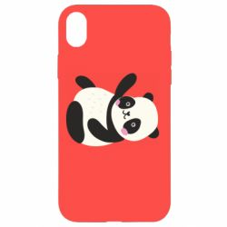 Чехол для iPhone XR Little panda