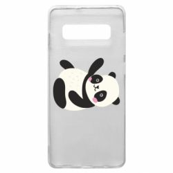 Чехол для Samsung S10+ Little panda