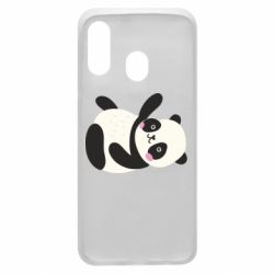 Чехол для Samsung A40 Little panda