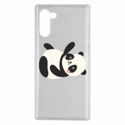 Чехол для Samsung Note 10 Little panda